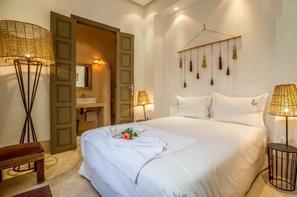 Maroc-Marrakech, Hôtel Riad Luxe 56