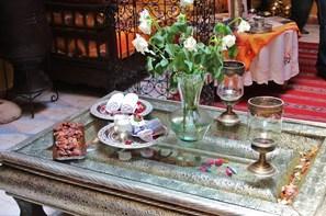 Maroc-Marrakech, Hôtel Riad Sacr