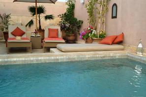 Maroc-Marrakech, Hôtel Riad Viva