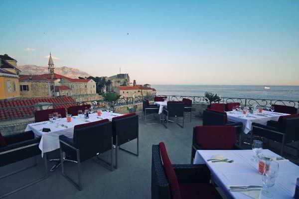 Terrasse - Astoria 4* Tivat Montenegro