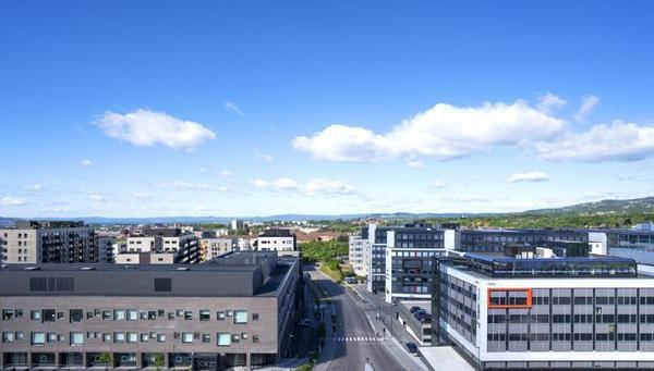 Facade - Thon Storo 4* Oslo Norvege