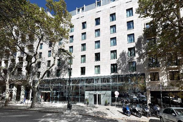 Facade - Eurostars Das Letras 5* Lisbonne Portugal
