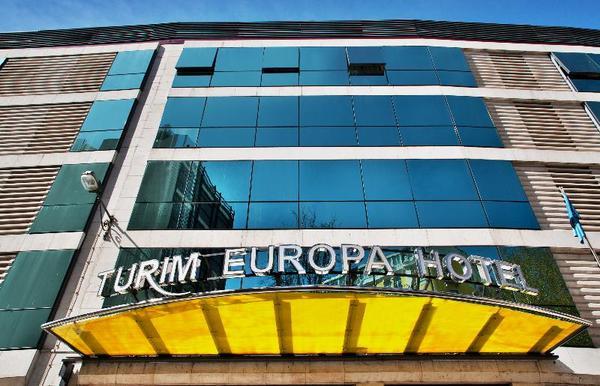 Facade - Turim Europa 4* Lisbonne Portugal