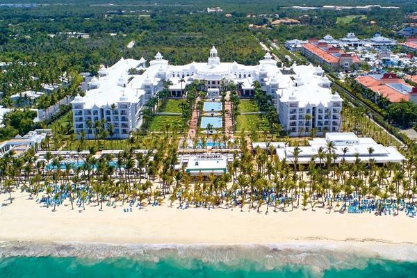 Facade - Riu Palace Punta Cana 5* Punta Cana Republique Dominicaine