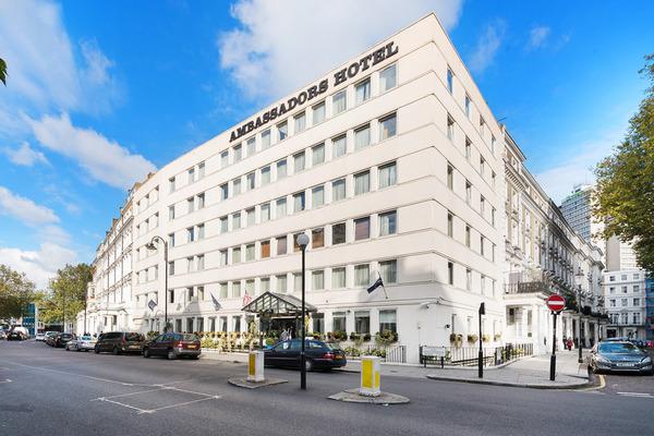 Facade - Ambassadors Hotel (also Ambassadors Hotel Kensington) 3* Londres Angleterre