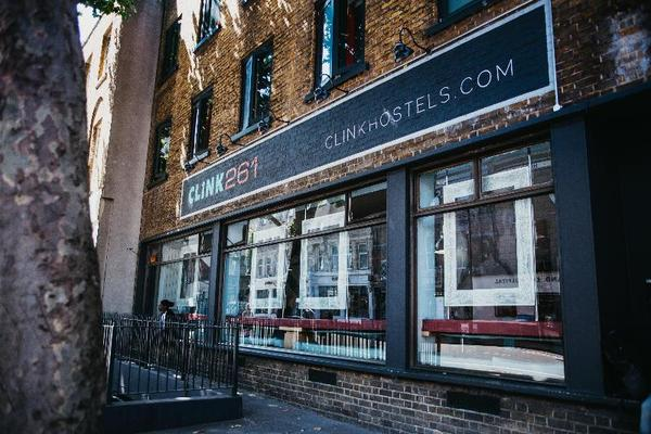 Facade - Clink 261 Hostel 1* Londres Angleterre