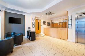 Angleterre-Londres, Hôtel Comfort Inn Kings Cross