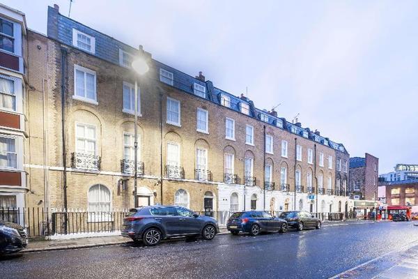 Facade - Comfort Inn Kings Cross 3* Londres Angleterre