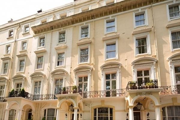 Facade - Dolphin Hotel 2* Londres Angleterre