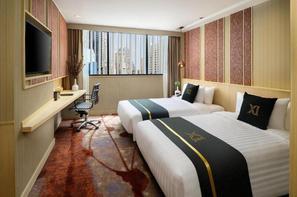 Thailande-Bangkok, Hôtel Eleven Hotel Bangkok