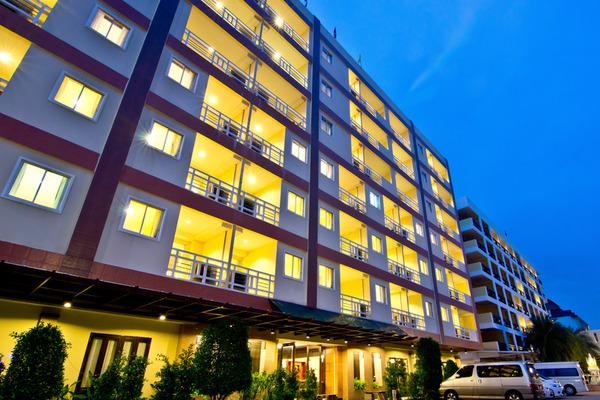 Facade - Golden Sea Pattaya Hotel 3* Bangkok Thailande