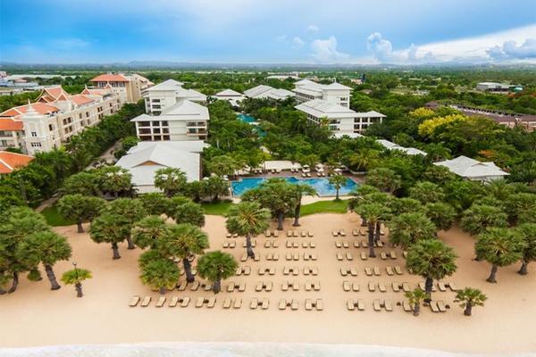 Facade - Ravindra Beach Resort & Spa 5* Bangkok Thailande