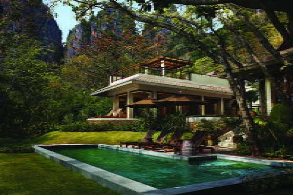 Facade - Rayavadee 5* Krabi Thailande