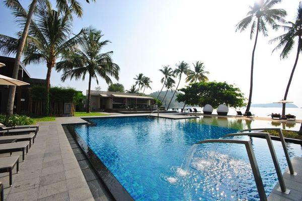 Piscine - Crowne Plaza Phuket Panwa Beach 5* Phuket Thailande