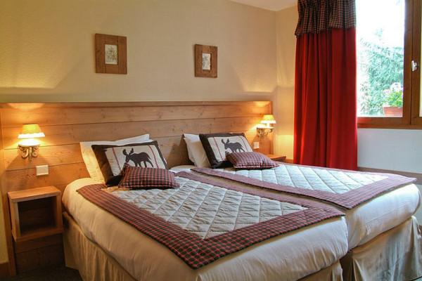 Chambre - Hôtel La Tourmaline 3* La Plagne France Alpes