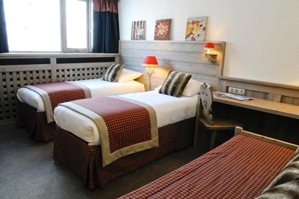 Chambre - Hôtel Arcadien 3* Les Arcs France Alpes