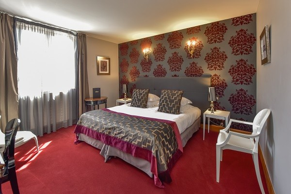 Chambre - Hôtel Château de Chailly 4* Chailly-sur-Armançon France Bourgogne