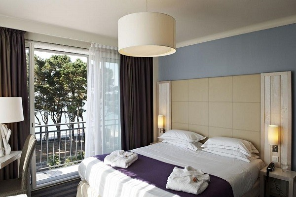 Chambre - Hôtel Kastel Wellness Thalasso & Spa 3* Benodet France Bretagne