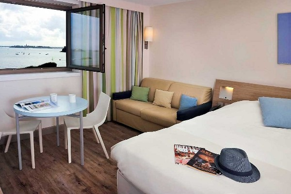 Chambre - Hôtel Novotel Dinard Thalassa Sea & Spa 4* Dinard France Bretagne