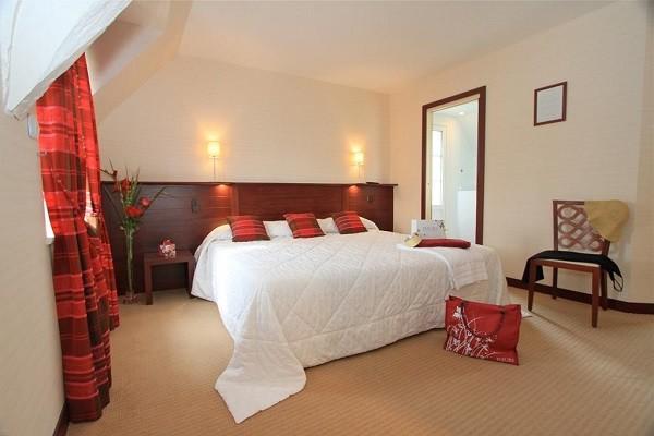 Chambre - Hôtel La Malouinière des Longchamps 3* Saint Malo France Bretagne