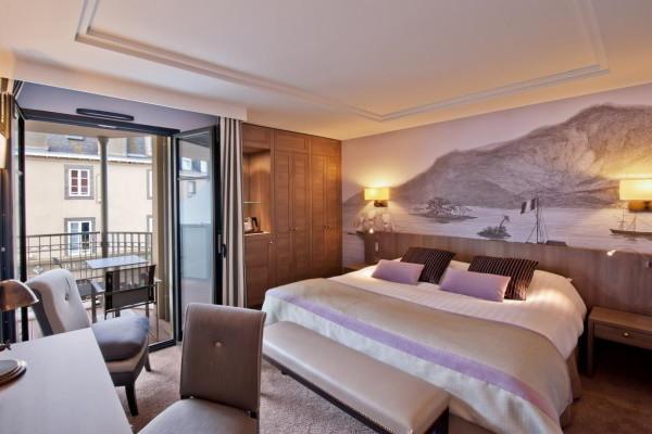 Chambre - Hôtel Le Nouveau Monde 4* Saint Malo France Bretagne