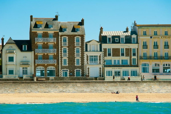 Facade - Hôtel Jersey 3* Saint Malo France Bretagne