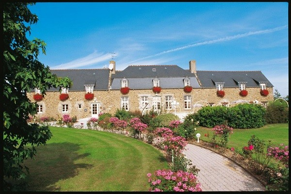 Facade - Hôtel La Malouinière des Longchamps 3* Saint Malo France Bretagne