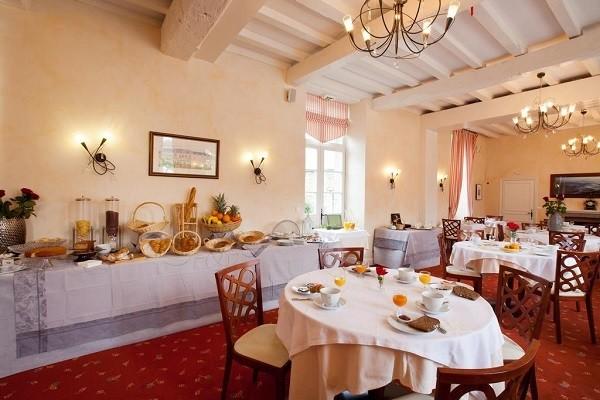 Restaurant - Hôtel La Malouinière des Longchamps 3* Saint Malo France Bretagne