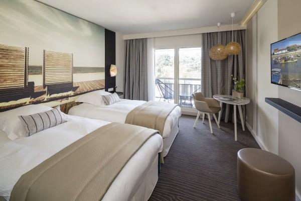 Chambre - Hôtel THALAZUR BAINS ARGUINS - PAQUES 4* Arcachon France Cote Atlantique