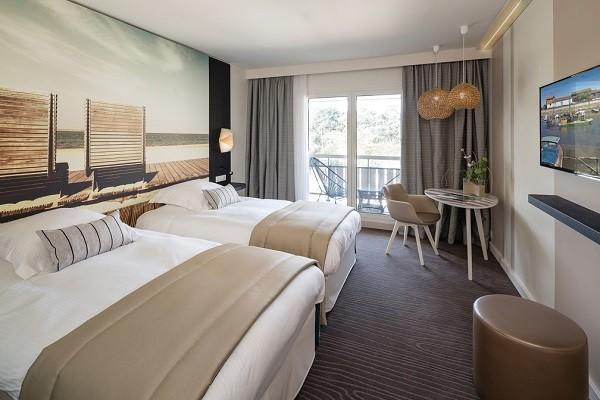 Chambre - Hôtel Thalazur Les Bains d'Arguin 4* Arcachon France Cote Atlantique