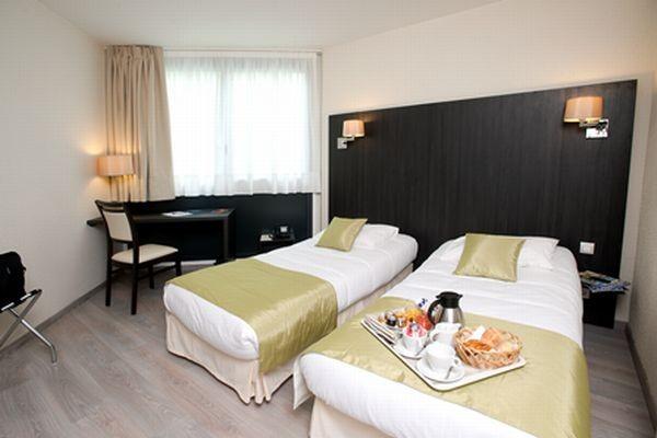 Chambre - Hôtel Le Bayonne - Chambre Classic 4* Bayonne France Cote Atlantique