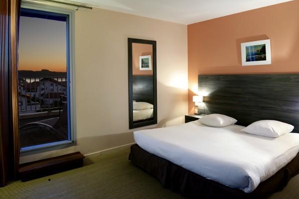 Chambre - Hôtel Le Biarritz & Thalasso archivé 3* Biarritz France Cote Atlantique