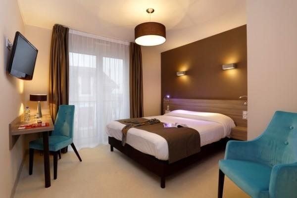 Chambre - Hôtel The Originals Les Thermes de l'Avenue 3* Dax France Cote Atlantique