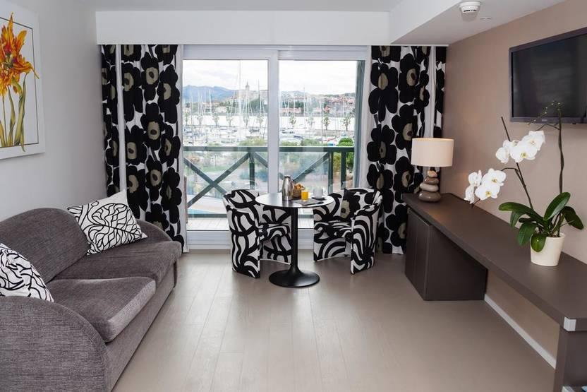 Chambre - Hôtel Serge Blanco 4* Hendaye France Cote Atlantique