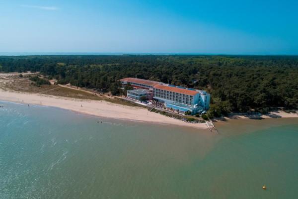 Vue panoramique - Hôtel Novotel Oléron Thalassa Sea & Spa 4* Ile d'Oléron France Cote Atlantique