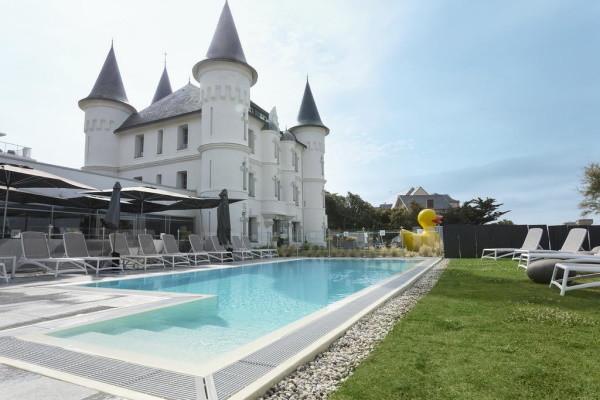 Piscine - Hôtel Chateau des Tourelles 4* La Baule France Cote Atlantique