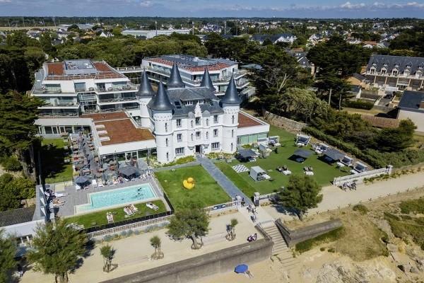 Vue panoramique - Hôtel Château des Tourelles 4* La Baule France Cote Atlantique