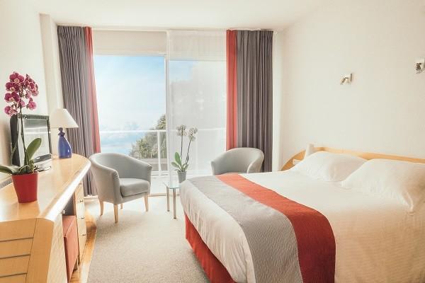 Chambre - Hôtel Alliance Pornic Resort Thalasso et Spa - Vue Patio 4* Pornic France Cote Atlantique