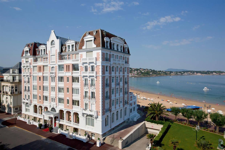Facade - Hôtel Le Grand Hôtel Thalasso & Spa (avec soins) 5* Saint Jean De Luz France Cote Atlantique