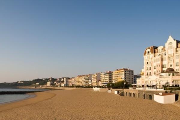 Plage - Hôtel Le Grand Hôtel Thalasso & Spa 5* Saint Jean De Luz France Cote Atlantique