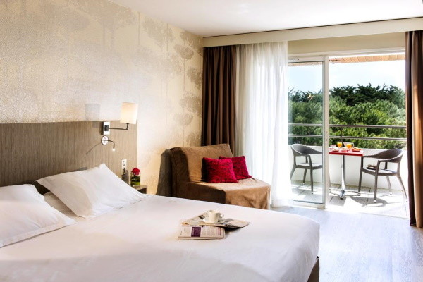 Chambre - Hôtel Atlantic Thalasso & Spa Valdys 3* Saint jean de mont France Cote Atlantique