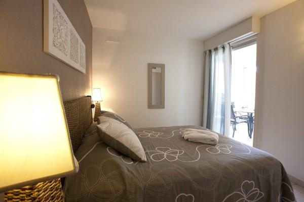 Chambre - Résidence hôtelière Flamants Roses Résidence Canet-en-Roussillon France Languedoc-Roussillon
