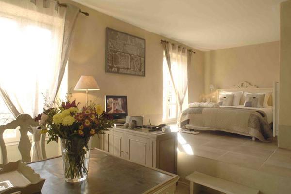 Chambre - Hôtel Le Couvent d'Hérépian 4* Montpellier France Languedoc-Roussillon