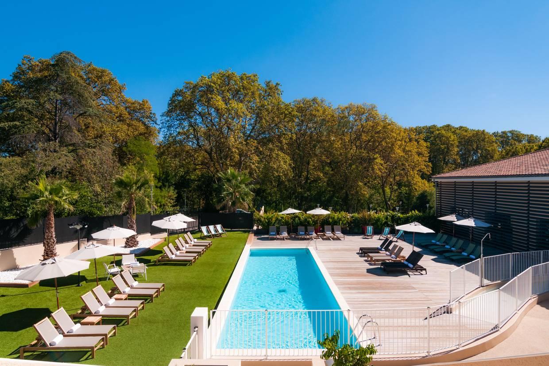 Piscine - Hôtel & Spa De Fontcaude 4* Montpellier France Languedoc-Roussillon