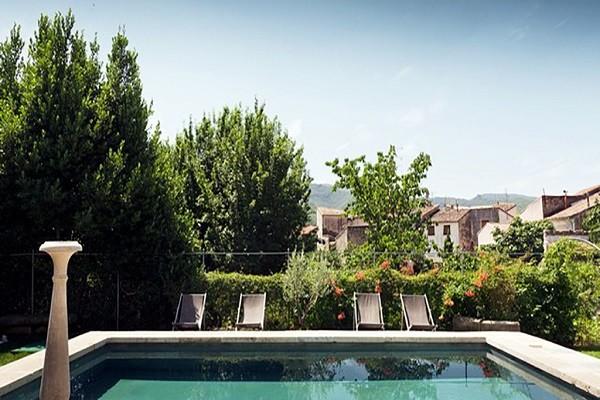 Piscine - Hôtel Le Couvent d'Hérépian 4* Montpellier France Languedoc-Roussillon