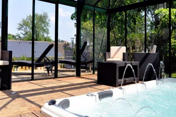 Spa - Hôtel Hostellerie de la Vieille Ferme 3* Criel-sur-Mer France Normandie