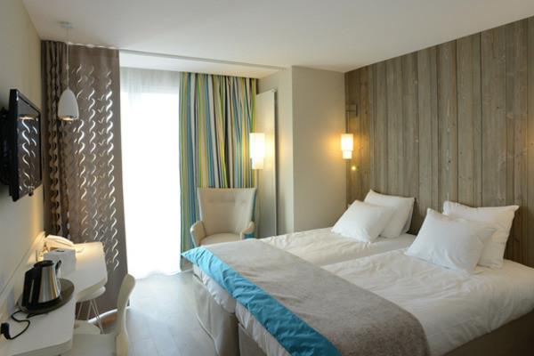 Chambre - Hôtel De La Baie 3* Donville-les-Bains France Normandie