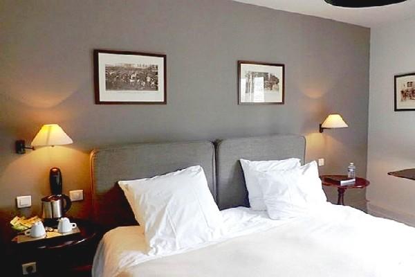 Chambre - Hôtel La Licorne Hôtel & Spa 4* Lyons La Foret France Normandie