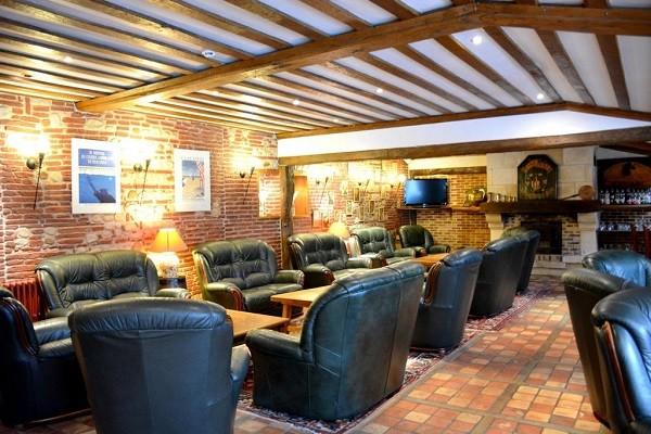 Bar - Hôtel Le Clos Deauville St Gatien 3* Saint-Gatien-des-Bois France Normandie