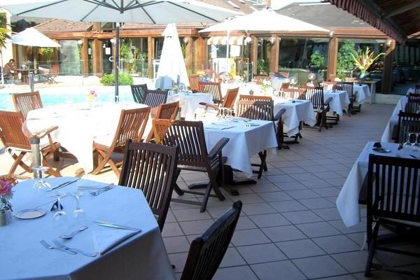 Restaurant - Hôtel Le Clos Deauville St Gatien 3* Saint-Gatien-des-Bois France Normandie